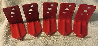 5 Lot New Hook Style Wall Mount 1520 Size Fire Extinguisher Bracket Universal