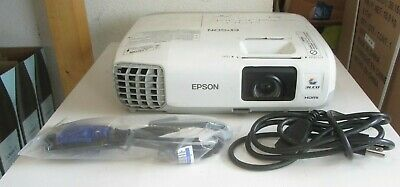 EPSON POWERLITE 97 LCD Projector H576A  TESTED 1831 Hours