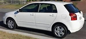 2002 Toyota Corolla Hatchback Newcastle Newcastle Area Preview