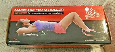 Nordic Lifting Foam Roller For Best Muscle Massage Deep Tissue Trigger