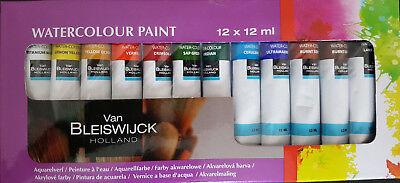 Aquarellfarbe Malfarbe 12 x 12ml Wasserfarbe malen Künstler