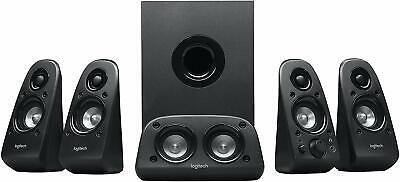 Logitech Z506 5.1 Surround Sound Home Theater Speaker System 4 TV PC Smartphones