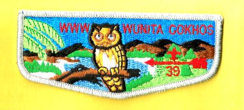 OA Lodge 39-s9 WUNITA GOKHOS gry bd Lanc.Lebanon Dutch Council Boy Scout flap PA