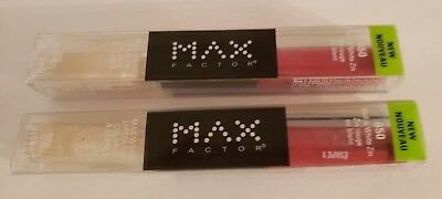 Max Factor MAX WEAR LIPSTICK GLOSS RED & WHITE ZIN #650