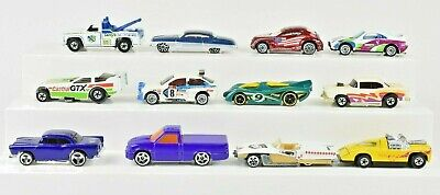 Hot Wheels Lot of 12 Cars 55 Chevy Larry's Towing Snake Castrol Funny Car Etc