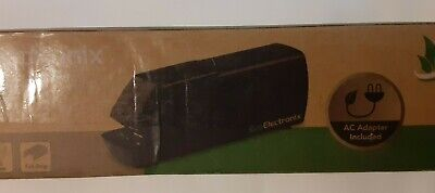 Electric Or Battery Stapler Black Color Ac Adapter Included Up To 25 Pages