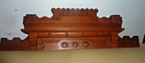 Antique Eastlake Victorian Pediment for dresser