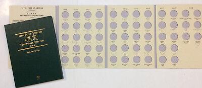 Commemorative State Quarter Book 1999 2008 + 2009 DC Territories Littleton Coin