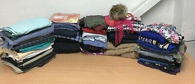 60+ Items, Ladies & Men's Clothes Job Lot, 16kg, Tops, Trousers, Jackets etc.