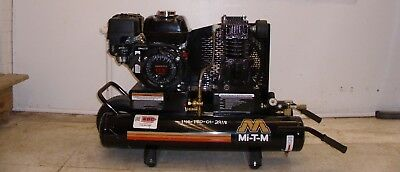 Air Compressor Mi-t-m 6.5 Hp Gas Power Single Stage Honda Engine Portable New