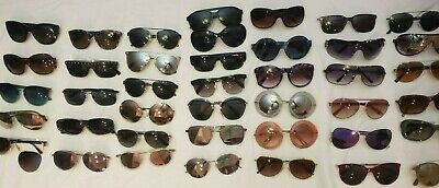 Ray Ban Prada Versace DG Tiffany Coach Guess Bolle Sunglasses lot 47 Total
