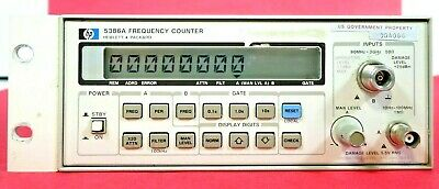 Agilent Hp 5386a 3 Ghz Frequency Counter Free Shipping