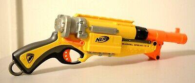 NERF N-Strike Elite Barrel Break IX-2 Double Barrel Shotgun Dart Gun Yellow