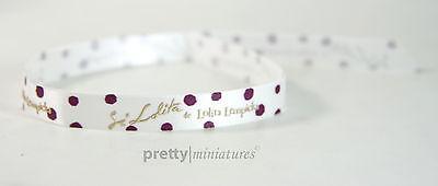ღ Si Lolita Lempicka - Duftband - Ribbon - 30cm lang