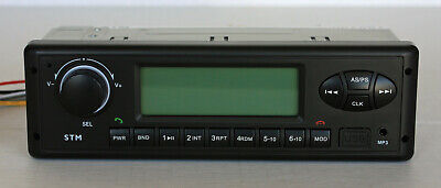 24 Volt Radio For Caterpillar 307b312b Excavator Amfmwbusbaux Bluetooth