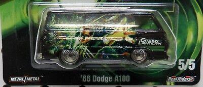 DODGE BOYS A100 VAN GREEN LANTERN DC COMIC SUPER HERO REAL RIDERS HW HOT WHEELS for sale  Bainbridge