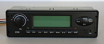Radio For Kioti Cab Tractor Amfmwbusbauxbt