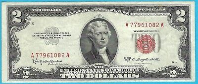 2 00 United States Note   1953 C   Granahan   Dillon   Fr  1512   A77961082a