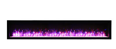 Amantii Symmetry SYM-88-B Clean Face 88″ Basic Built-in Electric Fireplace