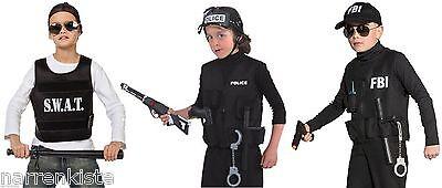 polizist polizei swat weste police fbi cia kost m. Black Bedroom Furniture Sets. Home Design Ideas