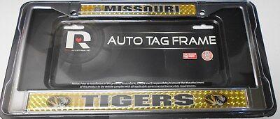 Missouri Frame - Missouri Tigers Domed Chrome License Plate Frame.    #K11-2