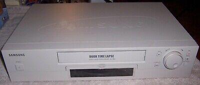 Samsung 960h Time Lapse Video Cassette Recorder Ssc-990 Vcr For Partsrepair