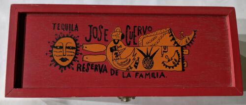 RARE! Jose Cuervo Tequila Reserva De Familia Box 1996 Manuel Velázquez
