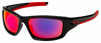 Oakley Valve Sunglasses OO9236-02 Polished Black | Positive Red Iridium (Oakley Iridium Sunglasses)