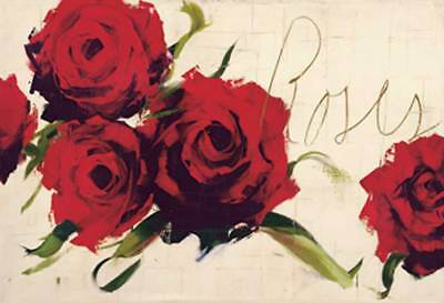 Antonio Massa - Roses - Grösse 138x98 Kunstdruck Artprint
