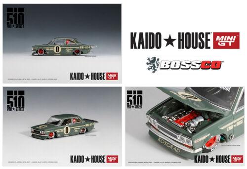 MINI GT 1/64 Kaido House Datsun 510 Pro Street Green ***PRE ORDER***