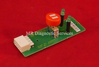 Beckman-coulter Hematology Lh-500 Stop Switch-2 Leds Pcb Part 179333