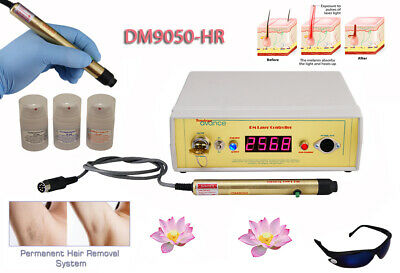 Permanent laser hair removal equipment for salon - home, machine, system &