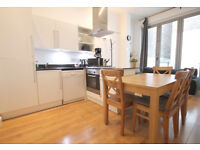 Bright and modern 3 double bedroom 2 bathroom ground floor flat with private outdoor space in Camden