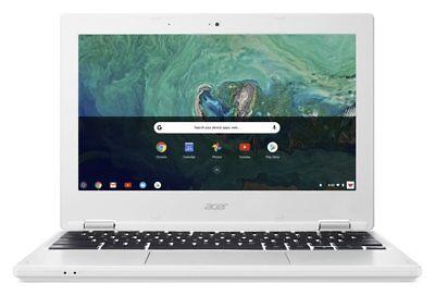 Acer Chromebook 11.6 Inch HD Intel Celeron OS 1.6GHz 2GB 16GB Laptop - White