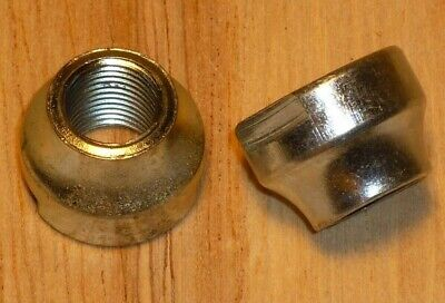 ORIGIN8 TRACK CHROMOLY FRONT M9 x 1.0 BLUE AXLE NUTS--ONE PAIR