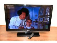 """Sharp 42"""" Full HD 1080p LCD TV with Freeview"""