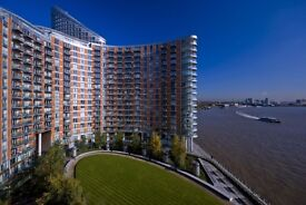 2 Beds & 2 Baths Canary Wharf Apartment With Breath Taking Views E14