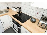 Furnished 2 bedroom 2 bath flat for rent in city centre - Parking, Equipped