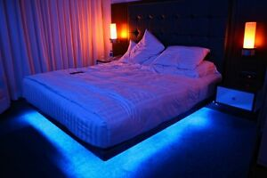 led color changing bedroom mood ambiance lighting ready