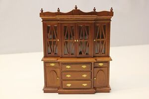 NEW Stunning Dolls House Large Wooden Dresser Detailed Design - 1/12th Scale