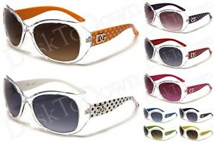 New-DG-Womens-Fashion-Sunglasses-Polka-Dot-Black-White-Red-Green-Orange-Pink