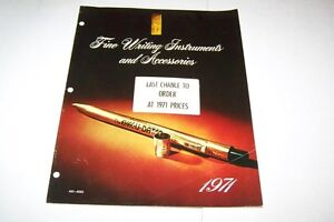 Vintage-Catalog-534-1971-C-D-writing-instruments-pen-catalog