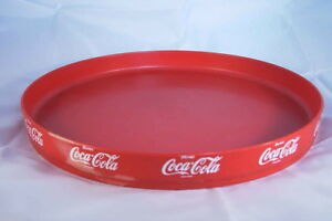 coca cola plateau rond plastique 30 cm de diametre buvez ebay. Black Bedroom Furniture Sets. Home Design Ideas