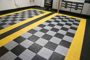 Fast-Flor Premium Garage Floor Tile  - $3.49 per sq.ft!