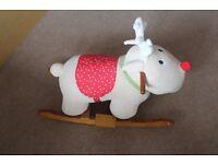 Kids 3-in-1 Learn to Pedal Trike/Booster Seat/Reindeer Rocking horse/ Balancing bike