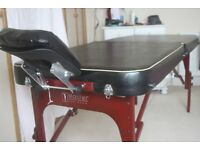 Portable massage table made by Master Massage USA - as new