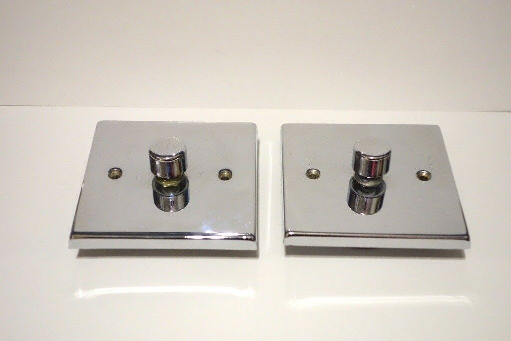 2x dimmable light switches