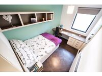 River View Ensuite Room in Twerton Mill Student Accommodation