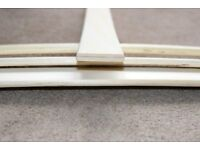 Replacement Sprung Bed Slats X 9 - Size: 54 mm wide x 9 mm thick x 75 cm long