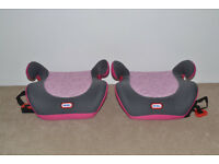 Little Tikes car booster seats